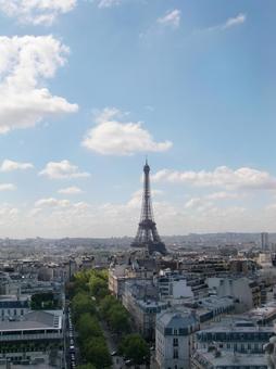 파리의 에펠 탑