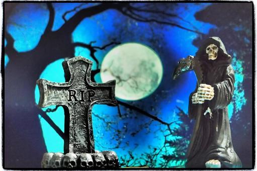 할로윈 ~ 묘지에 나타난 사신