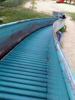 Park's roller slide