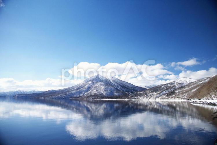 Shikotsu湖最难的冬天