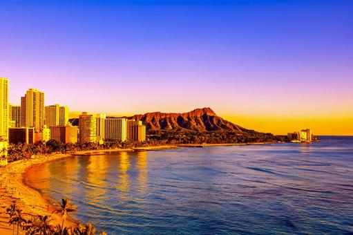 Waikiki sunset set