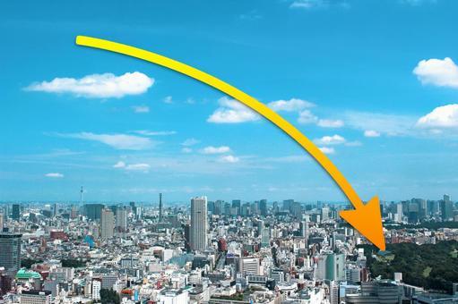 Urban Landscape · Down Arrow