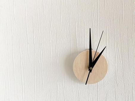 Analog clock 1 o'clock