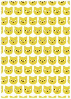 Scandinavian design animal yellow