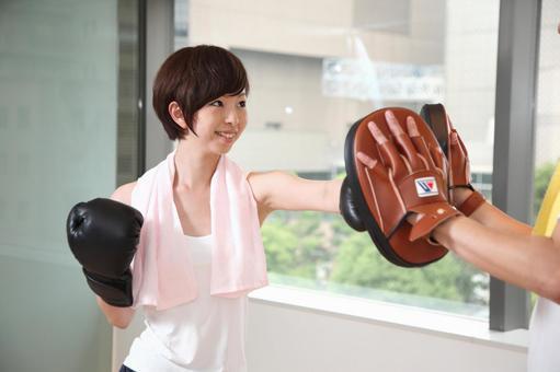 Boxing training 9