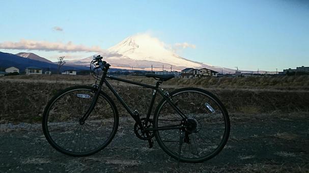 후지산 자전거