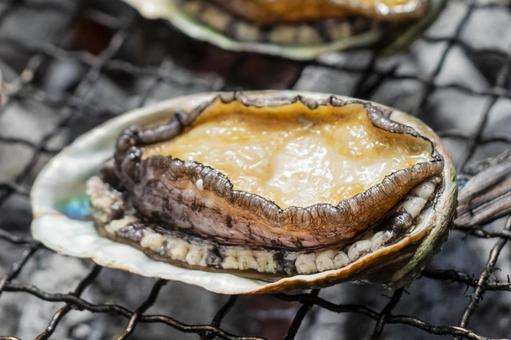 Bake abalone