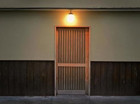 Machiya entrance