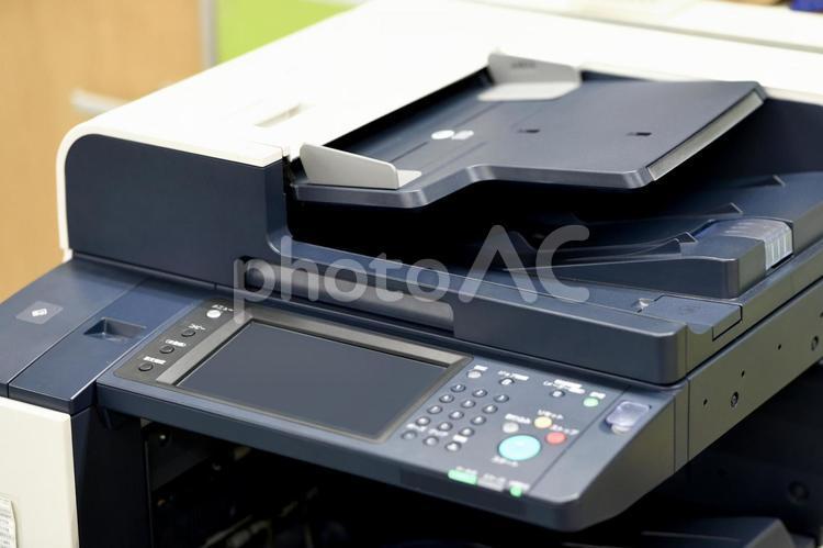 大型コピー機の写真