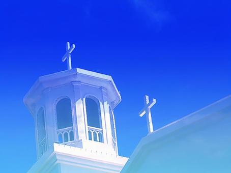 Church and sky 160508