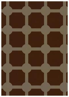 Geometric texture Masa pattern tea