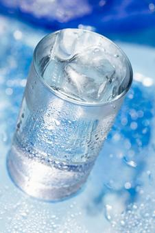 Glass mineral water _ 4