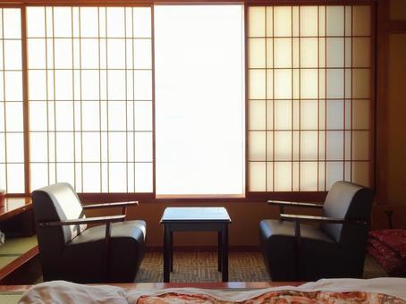 Ryokan / Hotel / Accommodation / Travel / Inn Room Wide Edge Image Material
