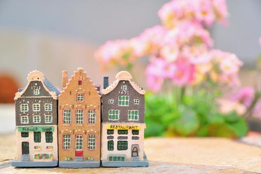Mini House Hanasaki's European Town 1