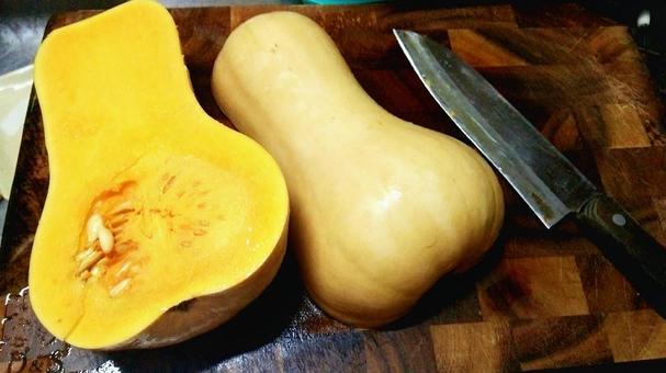Butter nut pumpkin