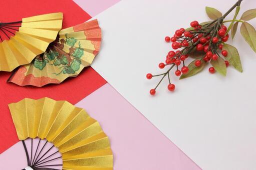 Folding fan and Senryo