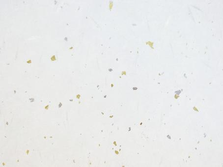 Washi paper with gold foil and silver foil