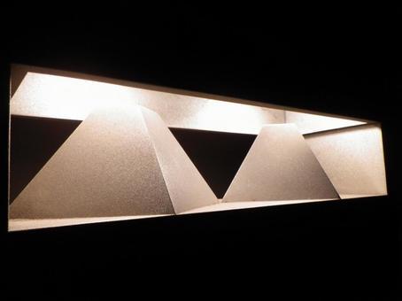 Triangular outer light