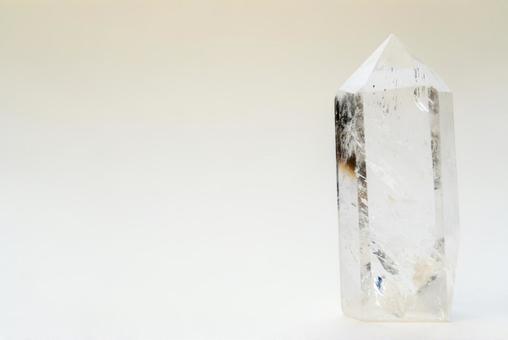 투명한 크리스탈 원석