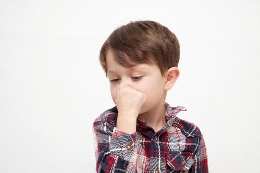 Boy picking a nose 2