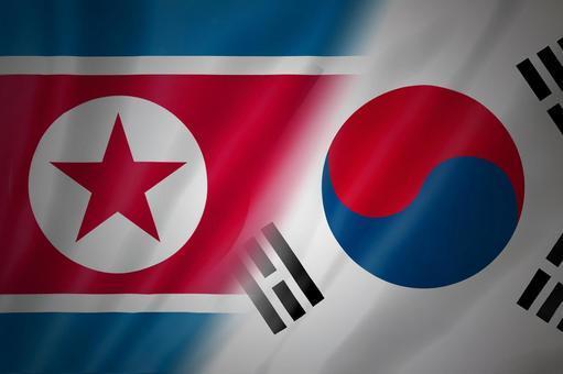 Korea and the North Korean flag 2