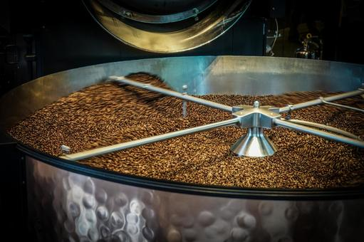Image of roasted coffee beans