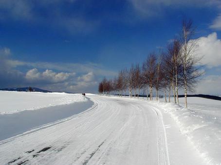 冬天早上好