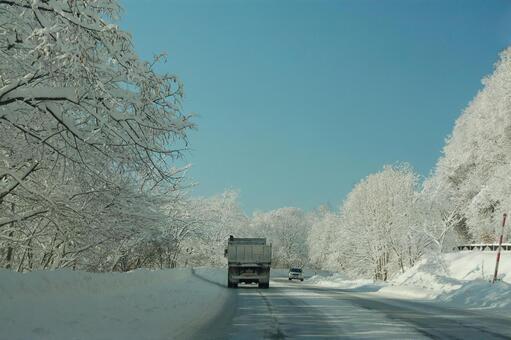 冬天在北海道