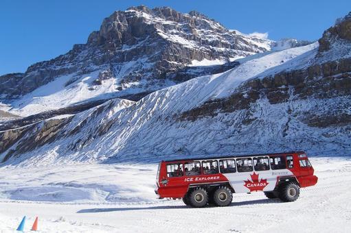 캐나다 빙하 투어