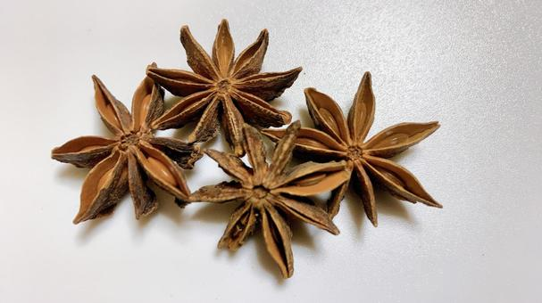 Star anise 3 spices spice material