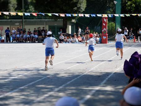Elementary school athletic meet · Kokume