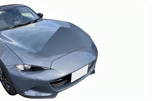 Car Domestic car Sports car sprinting Copy space