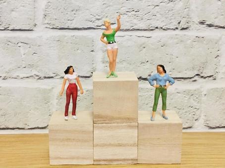 Podium (ranking) 3 women