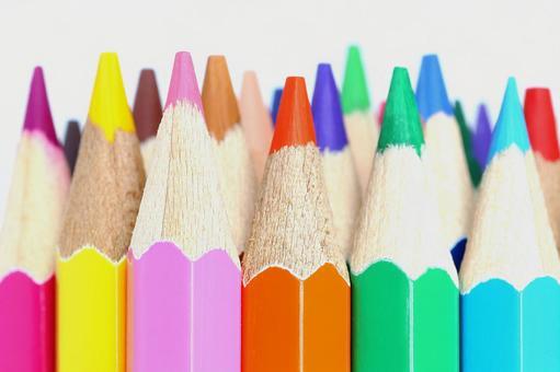 Colored pencils color pencils colorful