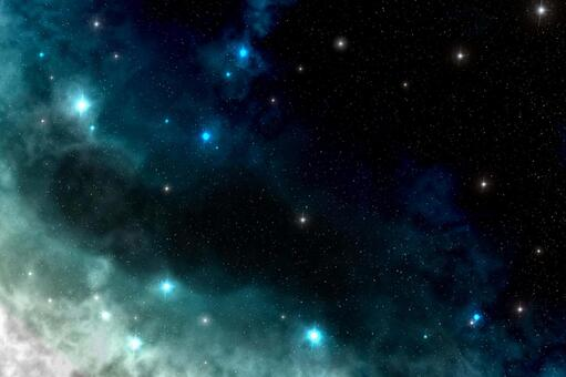 Galaxy Blue White