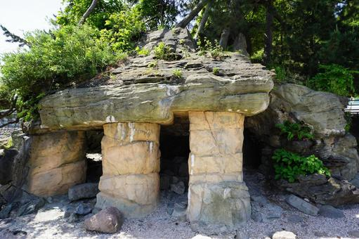 노토 반도 국립 공원 아마하라시 해안 義経岩