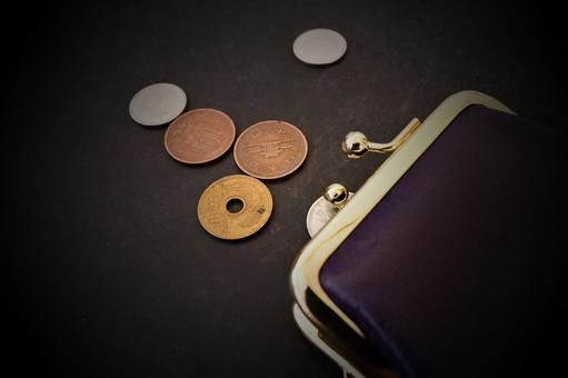 동전 지갑과 동전