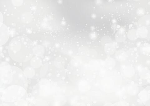 White snow shine background material