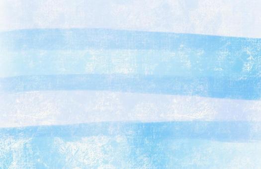 蠟筆條紋藍
