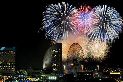 요코하마의 불꽃