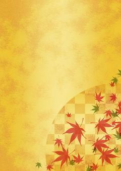 Texture 【Autumn leaves 04】