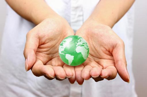 手与地球5