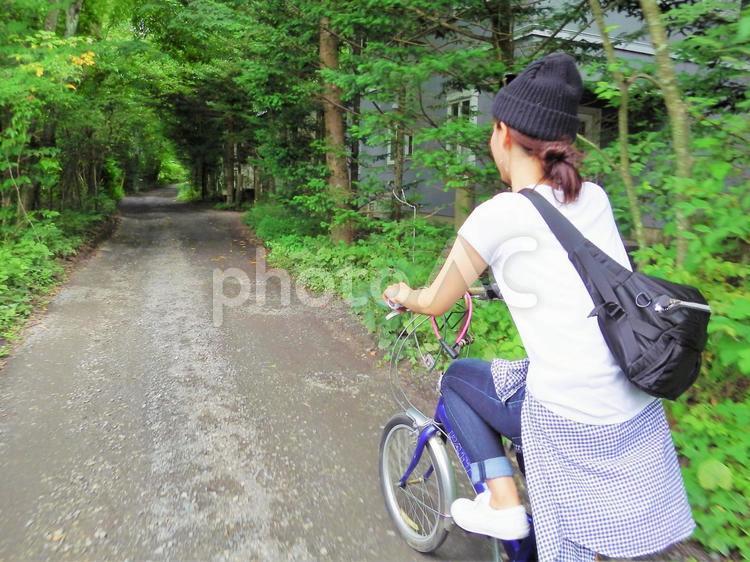 サイクリング1の写真