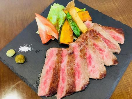 Hida beef steak