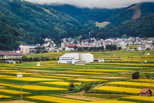 Autumn Nozawa Onsen Village (Nagano Prefecture)