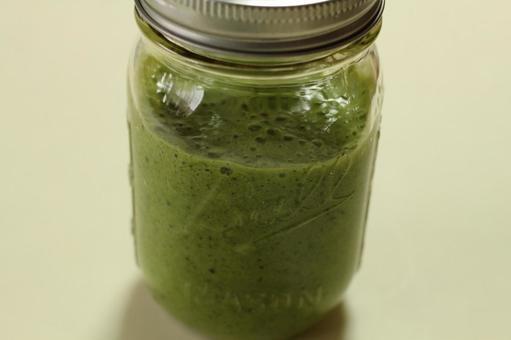 Green smoothie at Mason Jar