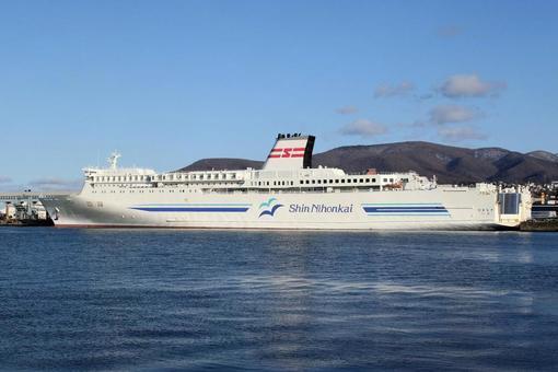 신 일본해 페리 '해당화'오타루 항