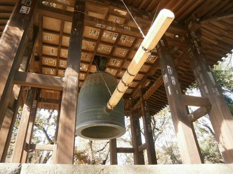 Tokyo, on the temple, bell