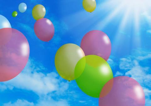 Flying balloons 01