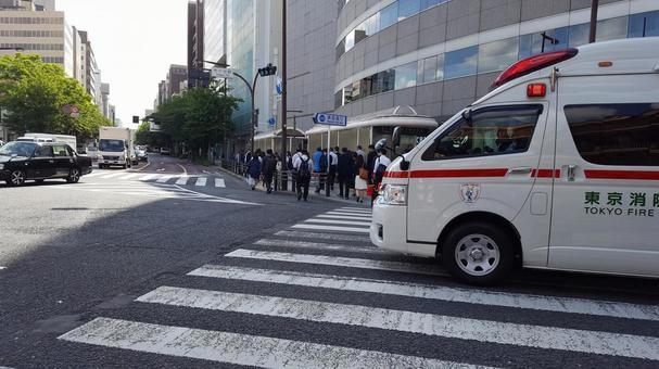 Ambulance passes